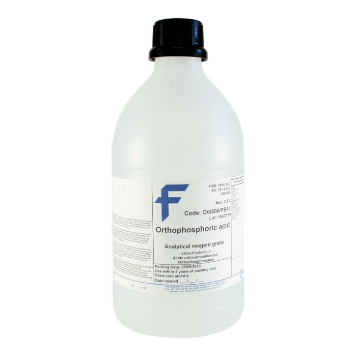 Phosphorsäure (2,5 Liter) 85% puriss. p.a. ACS reagent, reag. ISO, reag. PH.Eur